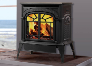 Intrepid® Direct Vent Gas Stove - Harding the Fireplace