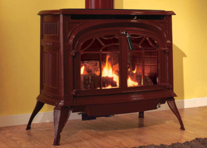Radiance® Direct Vent Gas Stove - Harding the Fireplace