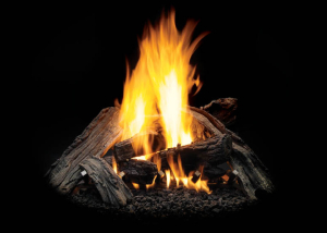 Matchlight VENTED OUTDOOR GAS LOG SET - Harding the Fireplace