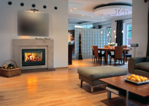 BIS Ultima™ CF Wood Burning Fireplace by Lennox Hearth Products