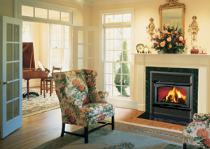 Secure HE43-2™ Wood Burning Fireplace by Lennox Hearth Products