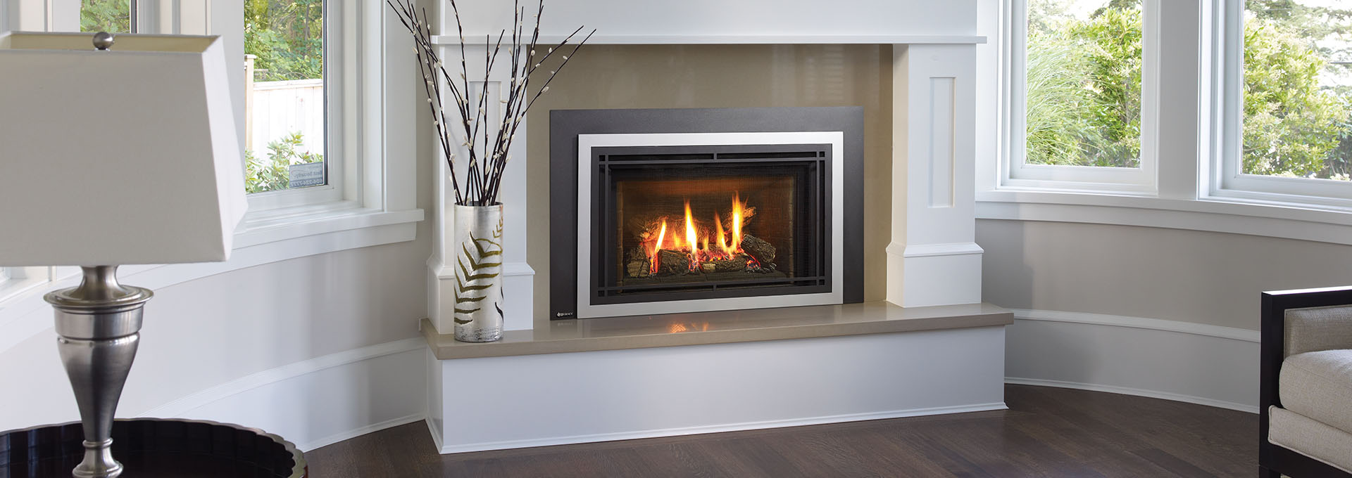 inserts home high hearth slim box gas fireplace product sutter panorama regency