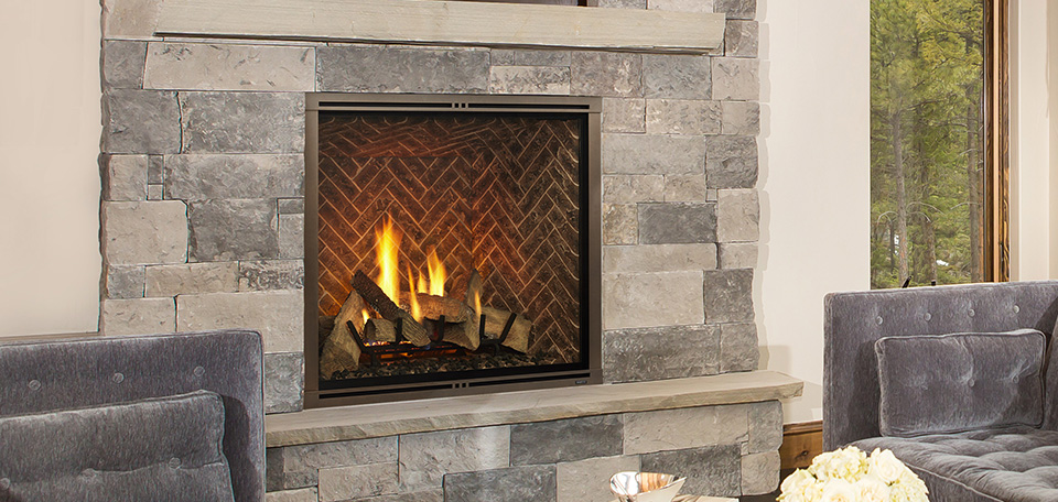 Marquis II Direct Vent Gas Fireplace Harding the Fireplace