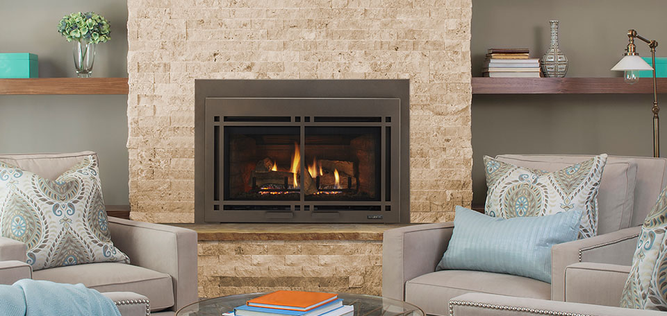 Ruby Series Direct Vent Gas Insert Harding the Fireplace