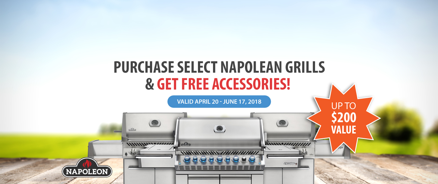 napolean free accessories event