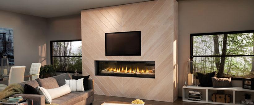TV over the fireplace