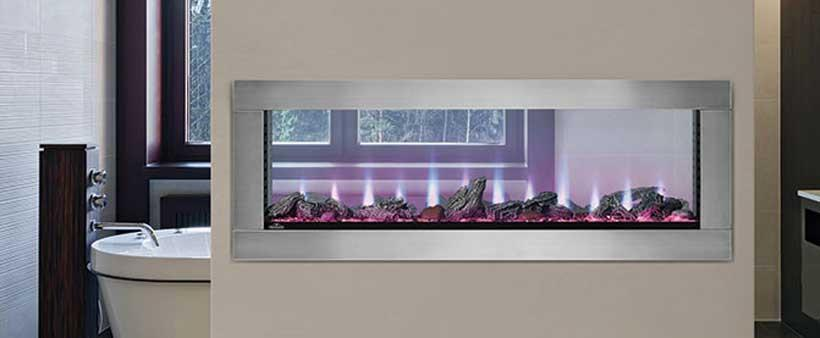 Featured Electric Fireplace: Napoleon Clearion