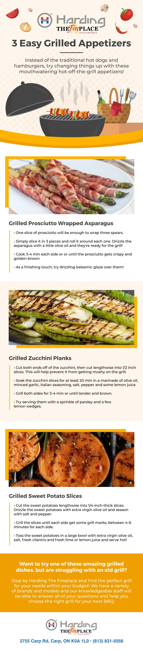 grilled appetizers