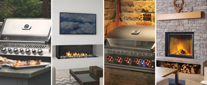 Ottawa fireplace grill