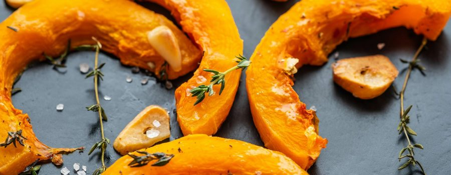 Grilled Pumpkin Rosemary